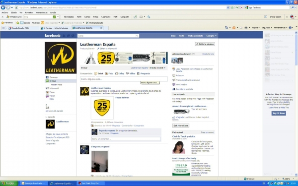 Leatherman te espera en Facebook