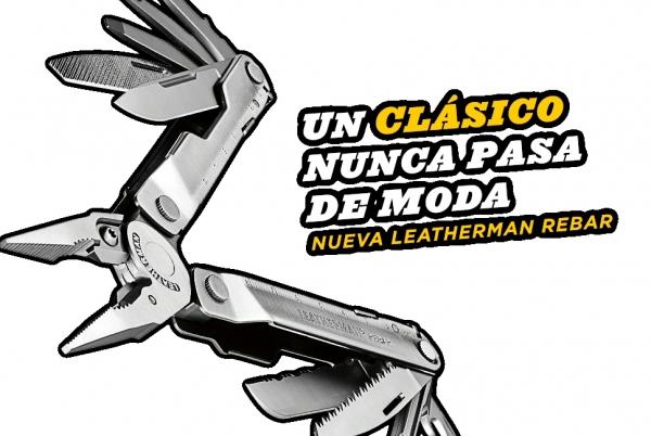Nueva Rebar de Leatherman: Un clásico nunca pasa de moda