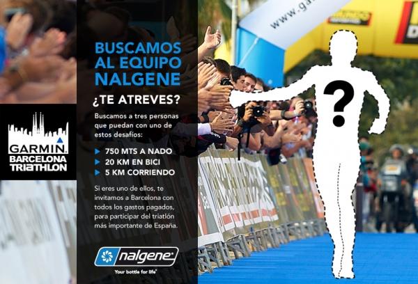 "Nalgene patrocina la Garmin Barcelona Triathlon y busca al ""Equipo Nalgene"""