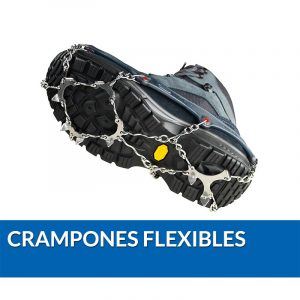 Crampones flexibles