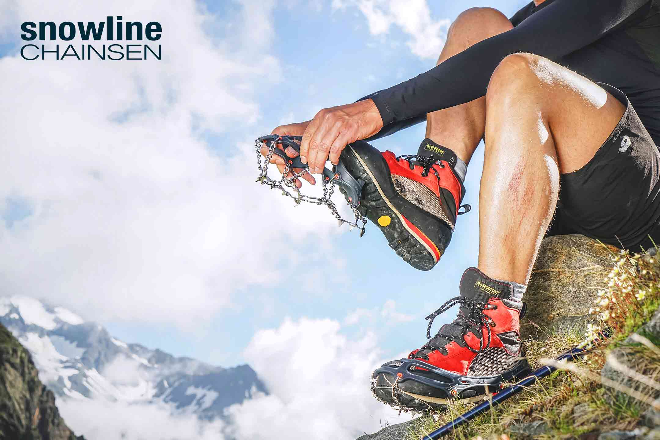 Crampones flexibles Snowline | Esteller