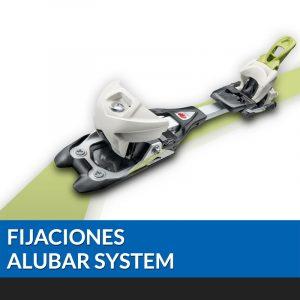 Fijaciones ALUBAR SYSTEM