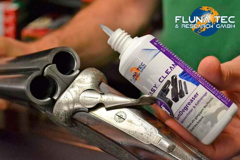 Limpieza y mantenimiento de armas Flunatec | Esteller