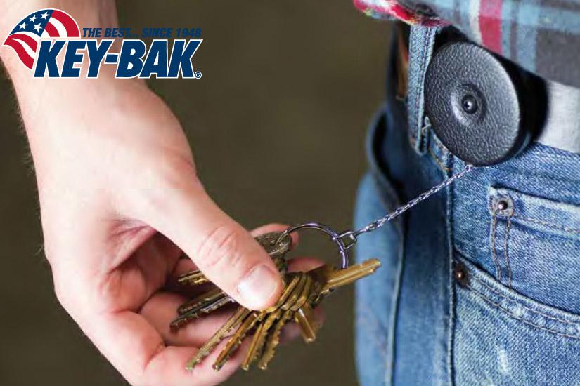 00 Llavero retráctil Key-Bak | Esteller Distribuidor en España y Portugal | Key-Bak