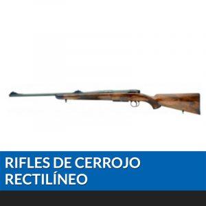Rifle de cerrojo rectilíneo
