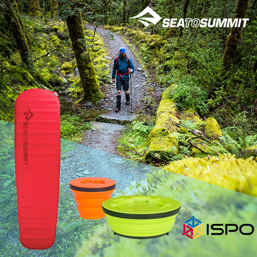 La ISPO de Munich premia a dos productos de la marca Sea to Summit