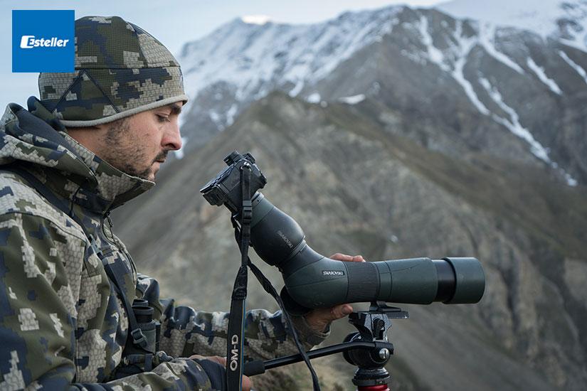 Pedro de Ampuero | Embajadores Swarovski Optik | Esteller