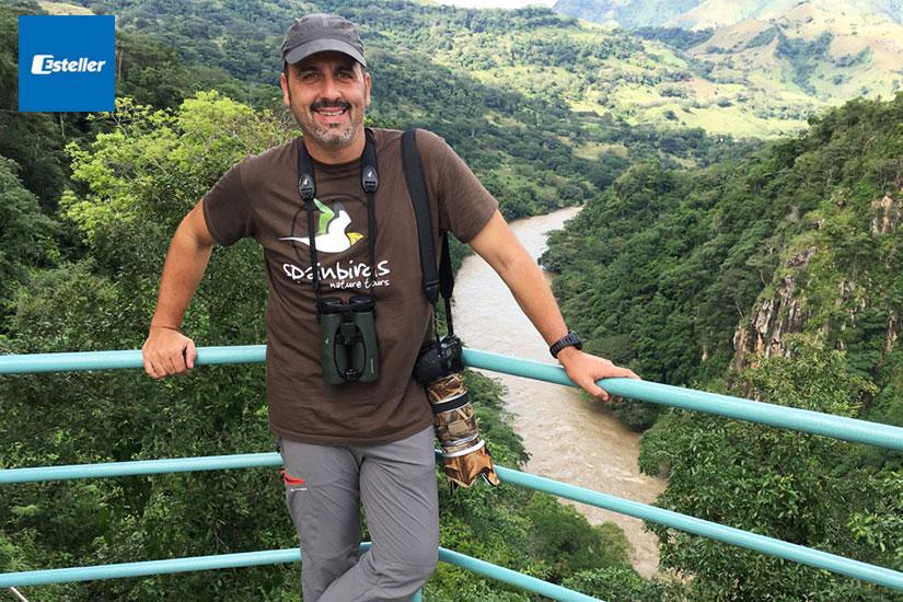 Santi Villa | Embajadores Swarovski Optik | Esteller