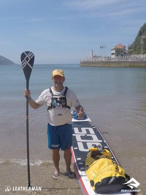 Antonio de la Rosa: Vuelta a la Península Ibérica en SUP 02