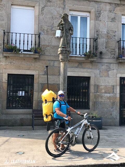 Antonio de la Rosa: Camino de Santiago en SUP