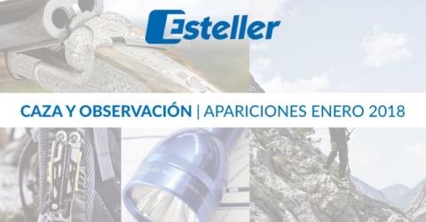 Apariciones caza enero 2018 | Esteller Iberia