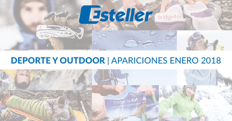 Apariciones deporte y outdoor enero 2018 | Esteller Iberia