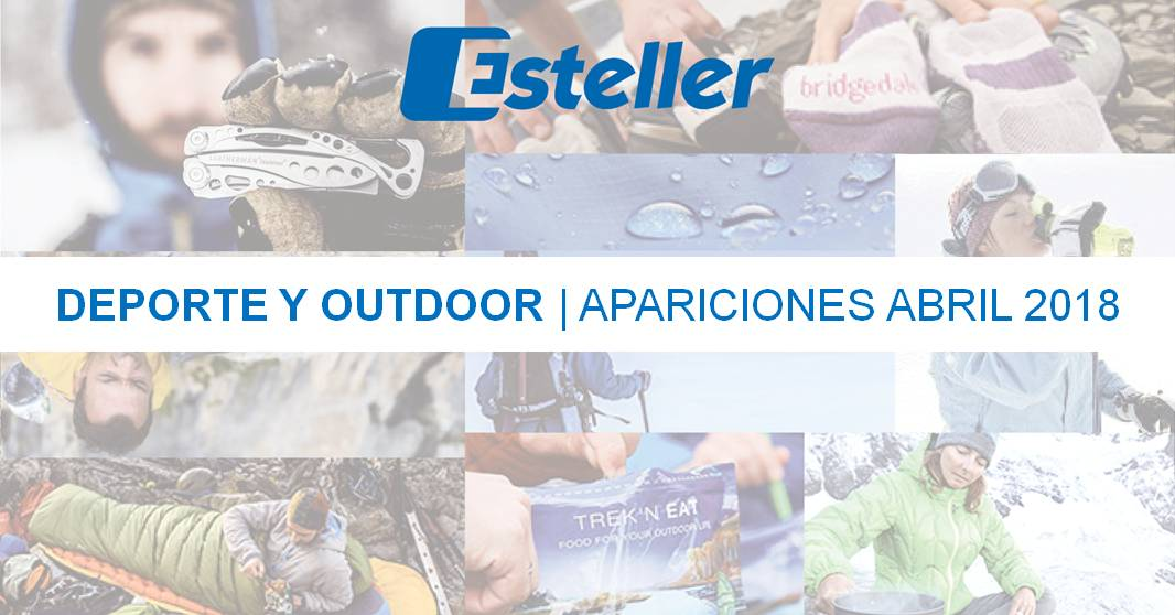 Clipping deporte y outdoor abril 2018
