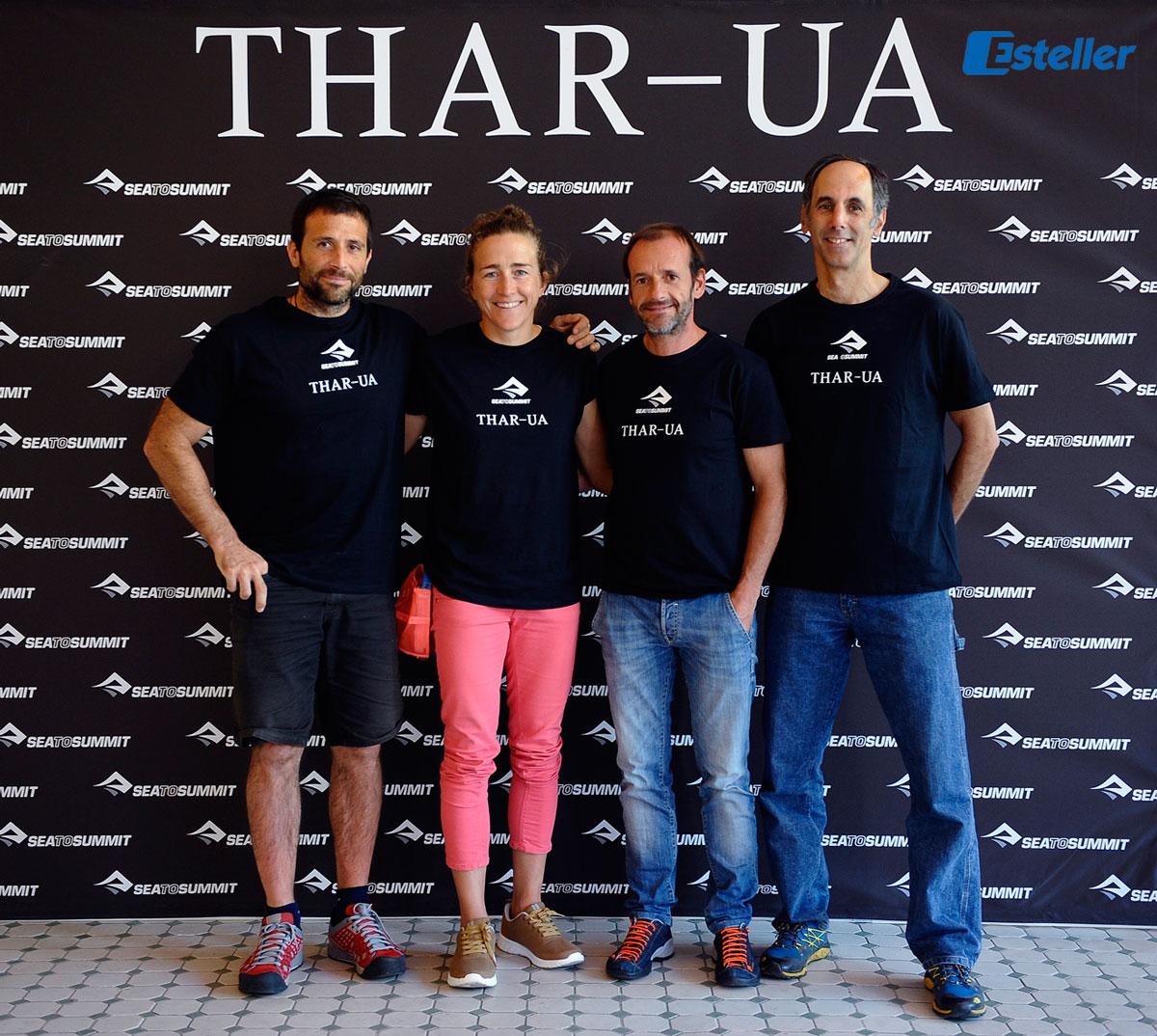 """Nuestros embajadores en el estreno de """"THAR-UA"""" I Sea to Summit"""