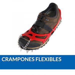Crampones flexibles