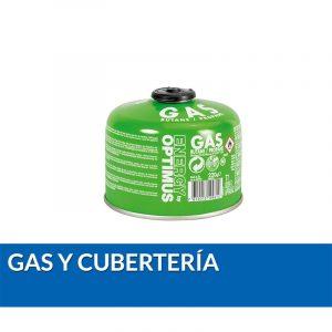 Gas y cubertería