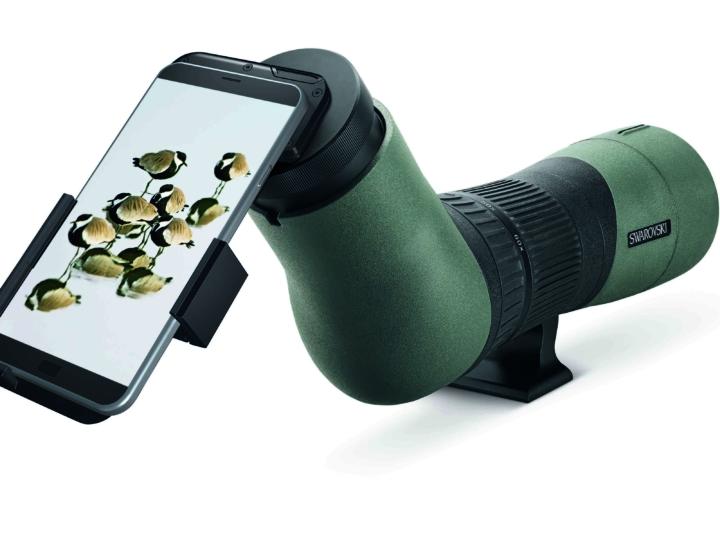 El nuevo adaptador variable para teléfono VPA de Swarovski Optik