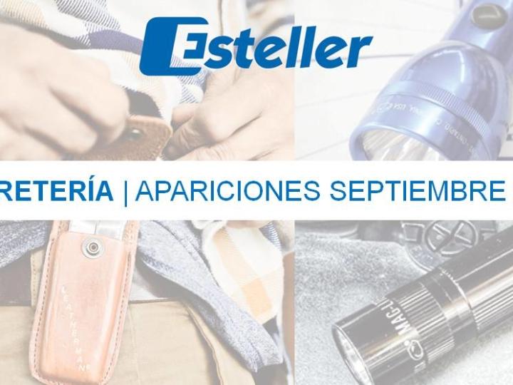 Ferretería | Apariciones septiembre 2018