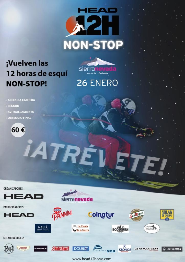 12h Sierra Nevada esquí