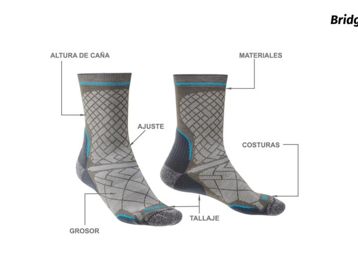 ¿Qué debes tener en cuenta para escoger los calcetines adecuados?