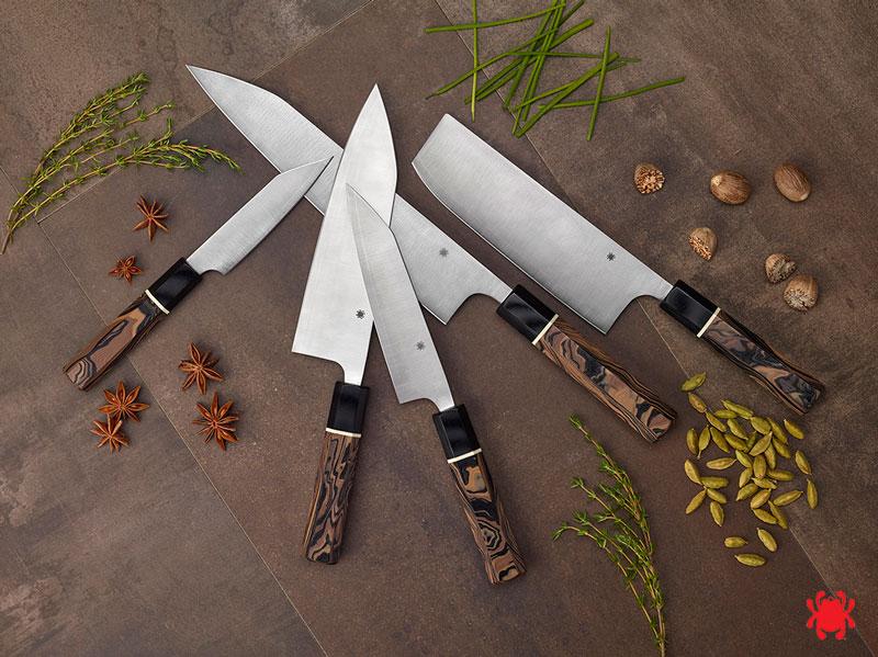 Cuchillos de cocina Spyderco I Itamae