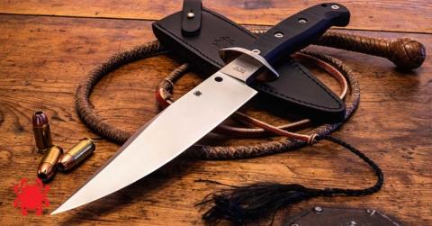 Cuchillos de hoja fija Spyderco Respect