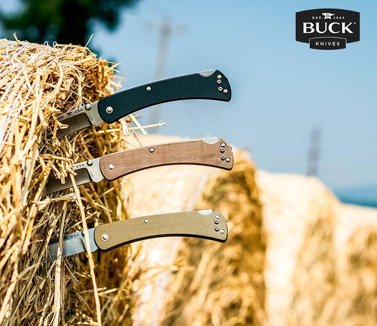 Cuchillos tácticos Buck knives I Esteller