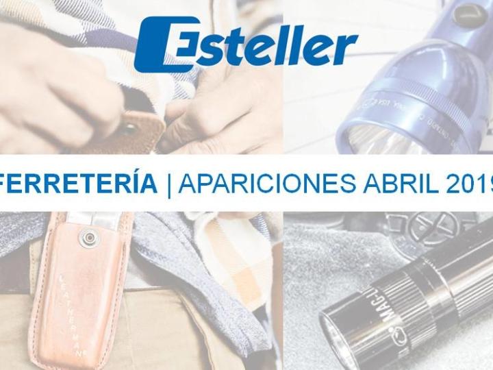 Ferretería | Apariciones abril 2019
