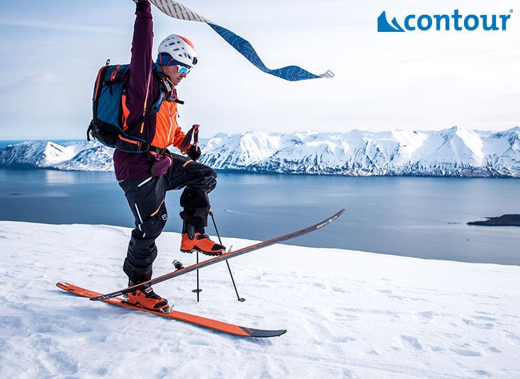 Piel de foca para esquí de travesía Contour