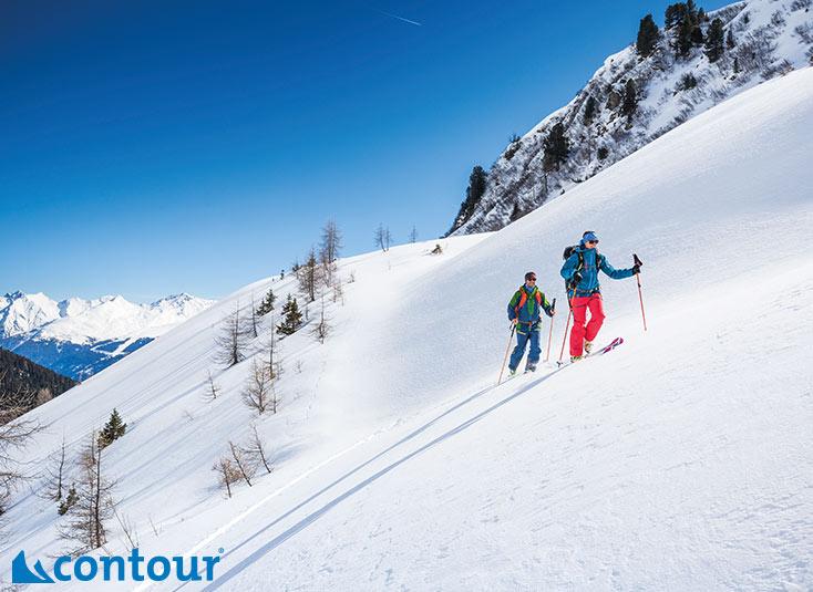 Piel de foca para esquí de montaña Contour