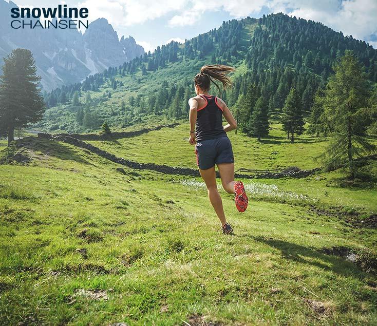 Crampones trailrunning Snowline I Esteller