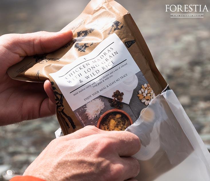 Comida liofilizada Forestia I Esteller