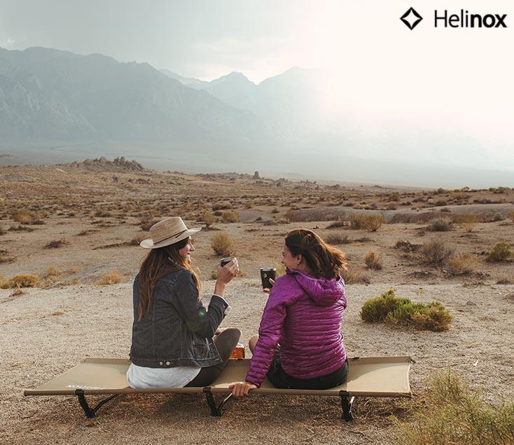 Tumbona plegable para camping Helinox I Esteller