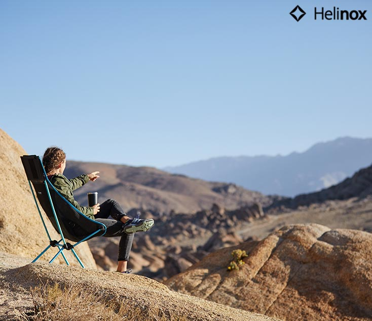 Sillas de camping plegable Helinox I Esteller