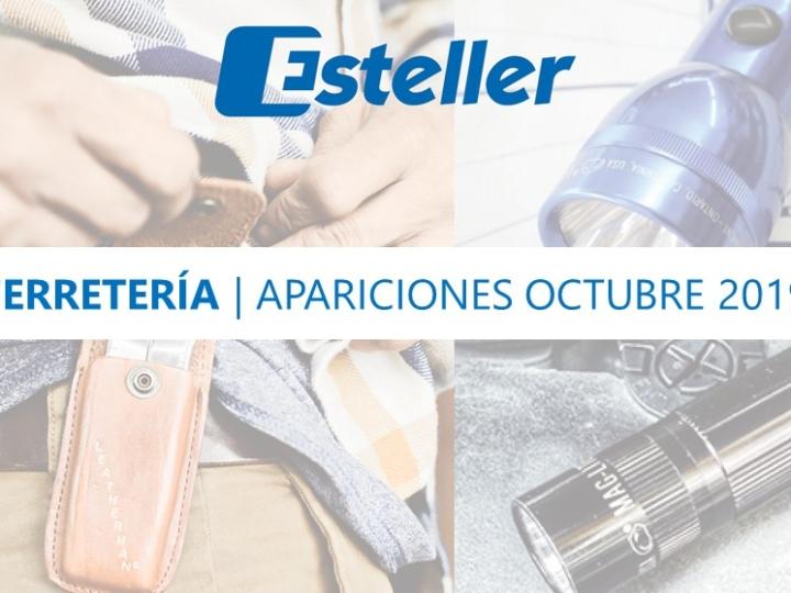 Ferretería | Apariciones octubre 2019