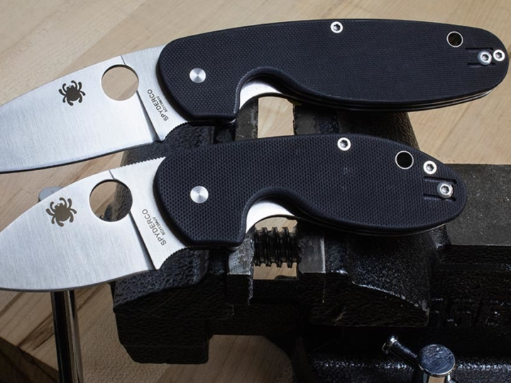 Las navajas Spyderco Efficient, Insistent y Emphasis