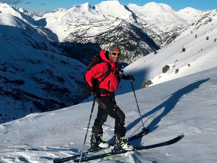 ¡Practica el esquí de montaña con Ferran Latorre gracias a Hagan y Fritschi!