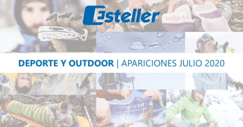 Apariciones deporte y outdoor Esteller - julio
