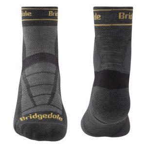 Calcetines trailrunning de Bridgedale para hombre-merino-caña-media