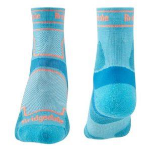 Calcetines trailrunning de Bridgedale para mujer de coolmaxo y caña-media