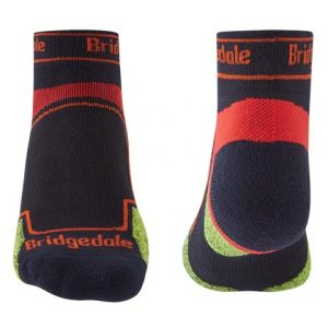 Calcetines trailrunning de Bridgedale para hombre-coolmax-caña-baja