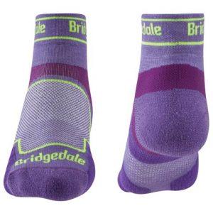 Calcetines trailrunning de Bridgedale para mujer de coolmaxo y caña baja